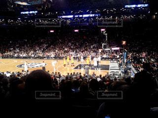NBAの試合の写真・画像素材[1192812]