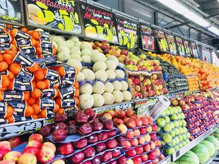 ニューヨークのマーケットの果物の写真・画像素材[1204500]