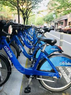 ニューヨークのシティーバイクの写真・画像素材[1209044]