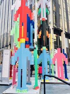 マンハッタンのアートの写真・画像素材[1243061]