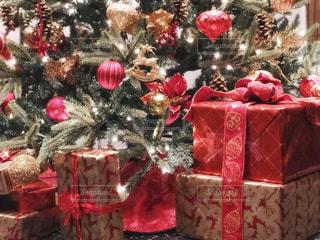 クリスマス ディスプレイの写真・画像素材[1671689]