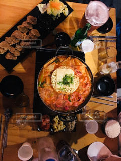 韓国ディナーの写真・画像素材[1739249]