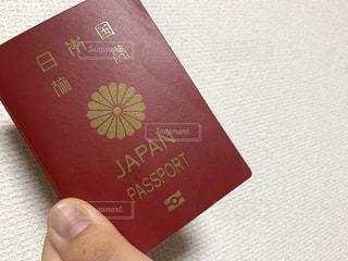 日本のパスポートの写真・画像素材[2873527]