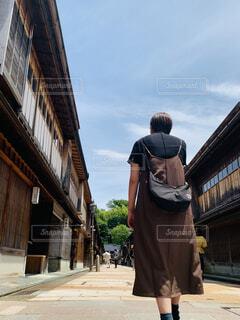 東茶屋街散歩の写真・画像素材[4516833]