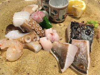 れんげ料理店の刺身の写真・画像素材[1138892]