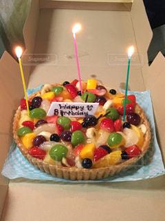 バースデー ケーキの写真・画像素材[1140394]