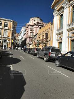 外国の街並みの写真・画像素材[1141345]