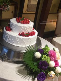 白いウエディング ケーキの写真・画像素材[1149831]