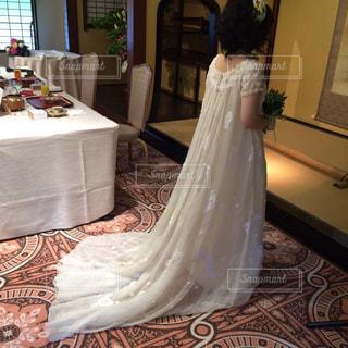 花嫁の後姿の写真・画像素材[1149948]
