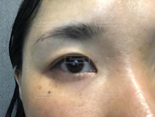 目 奥二重の写真・画像素材[2224125]