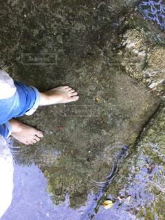 清水の感触の写真・画像素材[1141176]