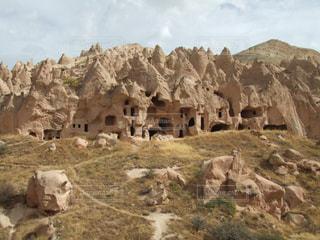 トルコ カッパドキアの風景の写真・画像素材[1309176]