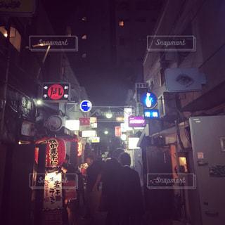 夜の街の写真・画像素材[1245340]