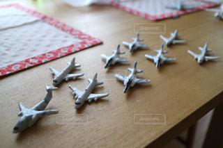 飛行機の箸置きの写真・画像素材[1141928]