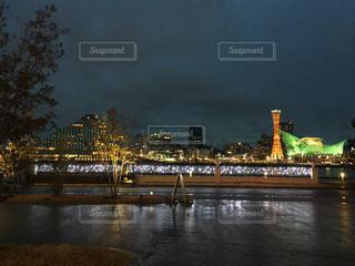 雨上がり後の神戸の写真・画像素材[1141392]