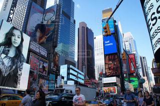 ニューヨーク路上の写真・画像素材[1141551]