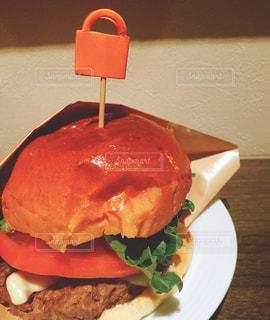 ハンバーガーの写真・画像素材[1141767]