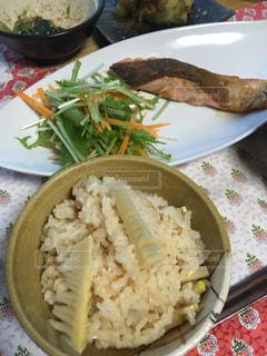タケノコご飯の写真・画像素材[1141785]