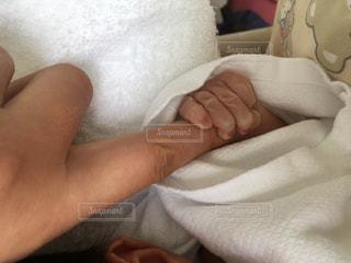 赤ちゃんの手の写真・画像素材[1141897]
