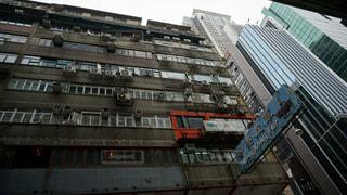 香港の街並みの写真・画像素材[1143755]
