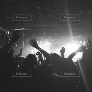 ライブの瞬間を切り取るの写真・画像素材[1190353]