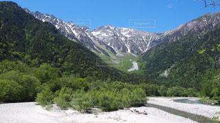 上高地の自然の写真・画像素材[1144002]