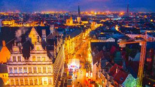 夜の街の写真・画像素材[1161519]