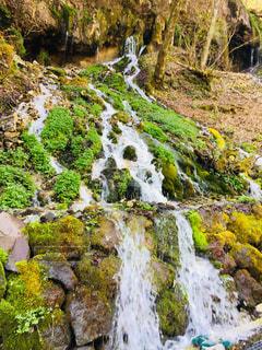 竜神の滝@白骨温泉の写真・画像素材[1163869]