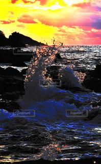 波しぶきの写真・画像素材[1149285]