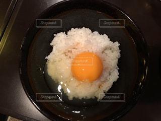 朝の定番 たまごかけご飯の写真・画像素材[1146052]