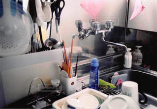 キッチン シンクの写真・画像素材[1044638]