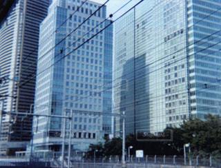 都市の高層ビルの写真・画像素材[1055038]