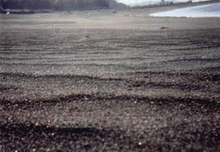 近くの砂浜のビーチの写真・画像素材[1056016]