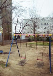 遊び場のクローズアップの写真・画像素材[2741106]