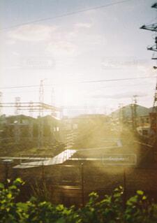 街の通りの眺めの写真・画像素材[3651778]