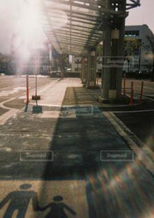 歩行者通路の写真・画像素材[4402555]