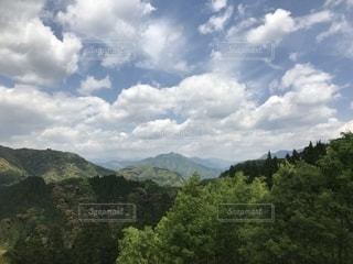 山のビューの写真・画像素材[1164645]