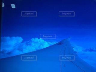 雲の上の写真・画像素材[1153186]