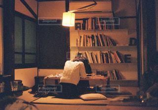 勉強中の写真・画像素材[1150084]