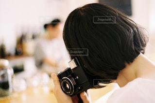 カフェにての写真・画像素材[1833573]