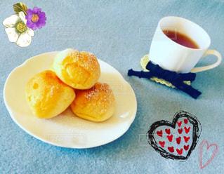 食品とコーヒーのカップのプレート - No.1147928
