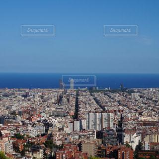 バルセロナの町並みの写真・画像素材[1149101]