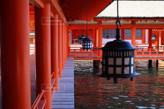 厳島神社の写真・画像素材[1561524]