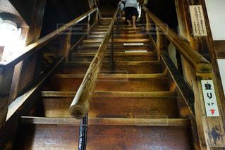 犬山城の階段の写真・画像素材[1562845]