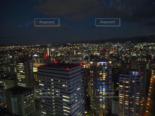 福岡タワー 夜景の写真・画像素材[1156008]