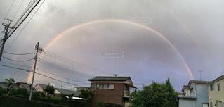 二重の虹の写真・画像素材[1150800]