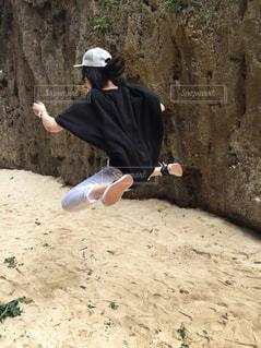 驚異のジャンプ力の写真・画像素材[1151131]