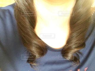 巻き髪の写真・画像素材[1150487]