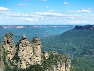 オーストラリアブルーマウンテンズ国立公園スリーシスターズの写真・画像素材[1150345]