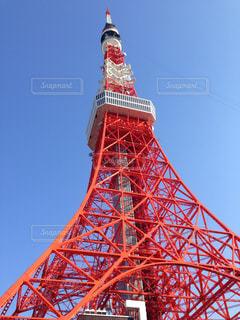 東京タワーを下からの写真・画像素材[1150838]
